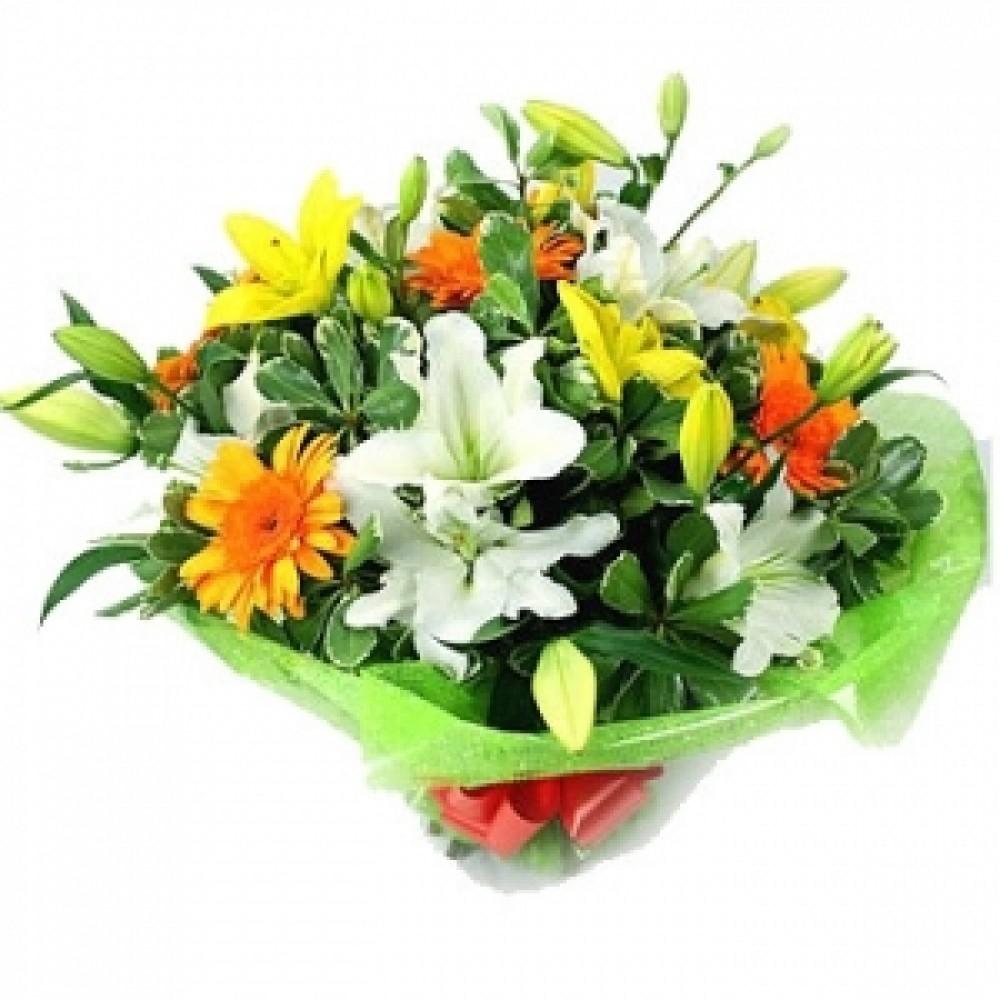 Mix flower bouquet beautyflower mix flower bouquet izmirmasajfo
